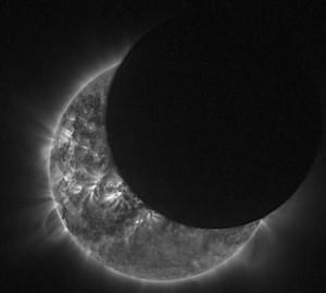 foto eclipse solar